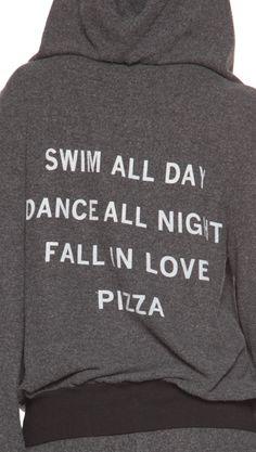summer mantra hoodie • wildfox