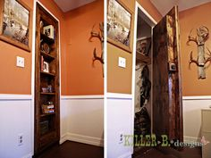 Is It a Bookcase, or a Door? Hidden Storage Ideas