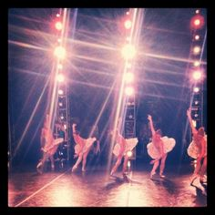 the stage, the lights, the costumes, the adrenaline, the music, the dance, the dancer <3