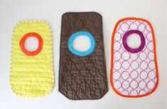 TUTORIAL and Free Pattern: Placemat Bibs   MADE
