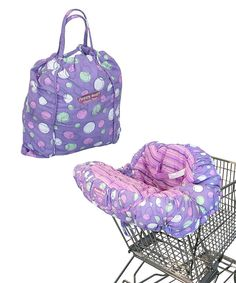 Look at this Grape Sorbet EZ Carry Shopping Cart Cover on #zulily today!