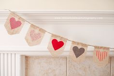 #Love #Bunting #ValentinesDay