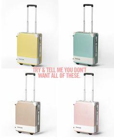 Pantone Luggage