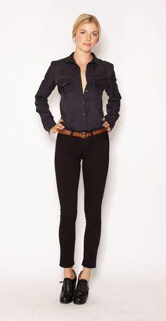 Imogene + Willie>>Cornelia: tailored military shirt  #lovethis