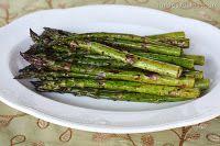 garlic balsamic asparagus #vegan