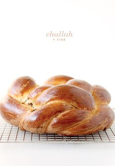 Challah + Figs  recipe here: http://smittenkitchen.com/blog/2012/09/fig-olive-oil-and-sea-salt-challah-book-tour/