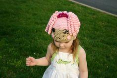 Jewel Sparkles Lalaloopsy Hat - 0-3, 3-6, 6-12, toddler or child. $30.00, via Etsy.