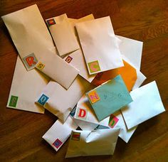 Fun Idea: My friend turned 26 and I took the alphabet (26 letters) and put a gift starting with that letter in each envelop!