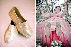 zapatos mensaje