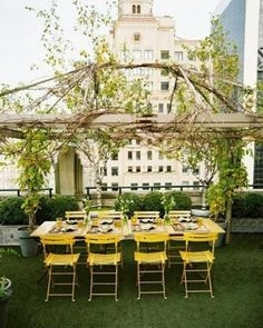 secret gardens, garden decorations, rooftop space, dinner parties, rooftop dinner, homes, outdoor spaces, the city, rooftops