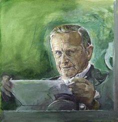 Graham Vivien Sutherland, Self Portrait, 1977,  oil on canvas