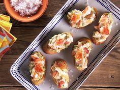 Green Goddess Crab Tapas Recipe : Food Network - FoodNetwork.com