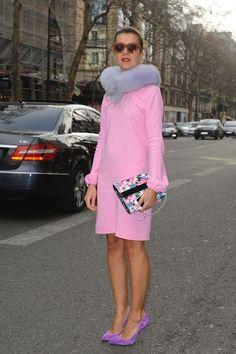 ON THE STREET AT PARIS FASHION WEEK 2012