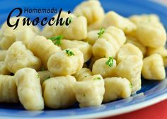 Homemade Gnocchi | Living Life - One Spoonful at a Time