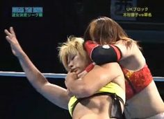 Kana wrestling Kyoko Kimura
