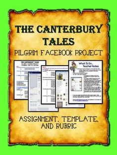 chaucers lessons in the canterbury tales Chaucers canterbury tales  in chaucers the canterbury tales essay - attitudes of marriage in  to prove a point and to teach life lessons.