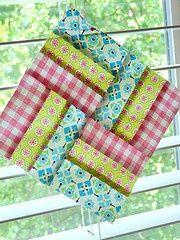 gingham, idea, craft, basketweav block, basket weav