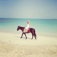 Horseback riding in Antigua
