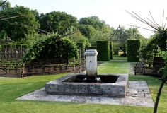 The gardens of Priory d'Orsan