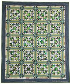 It's another Bonnie Hunter beauty!  This one is from Quiltmaker's 100 Blocks Volume 8.