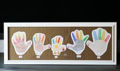 eighteen25: hand print turkey family