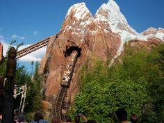 Expedition Everest at Animal Kingdom, Walt Disney World- BEST RIDE EVER!