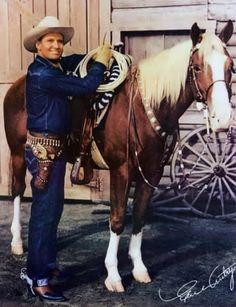 Gene Autry & his horse Champion