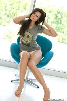 Hot brunette of the day Natasha Belle! #NSFW