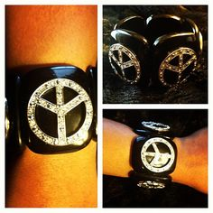 """Rock the Peace"" Mega Bracelet"
