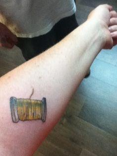 thread tattoo