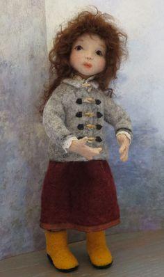 Needle Felted Doll | Felting Contest | Felted Seuss Inspired Character| Needle Felting Doll