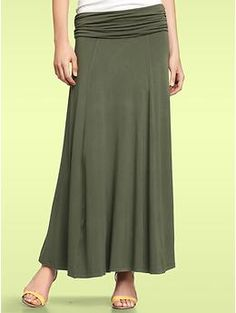 A-line maxi skirt | Gap