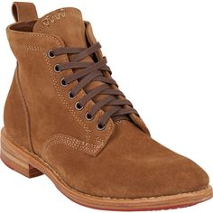 Crazy expensive and I love. VisVim Hilts Lace-Up Ankle Boots.