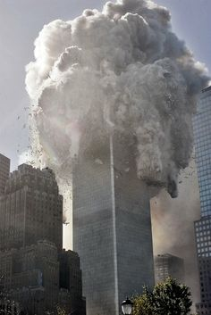 10:28 AM - North tower collapses