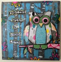 Paper Pals Mixed Media Owl Class... for my future owl classroom :)