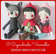 Little Red Riding Hood play set by blita, via Flickr
