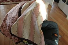 do it yourself divas: DIY: Baby Car Seat Tent/Cover/Canopy