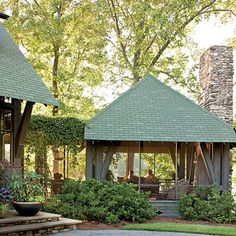 Screened Porch - Naturally Inspired Georgia Lake House - Southern Living