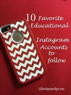 Favorite Educational Instagram Accounts to Follow