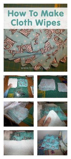 Cloth Diapering Tips: How to Make Cloth Wipes - Thinking Outside The Sandbox Family