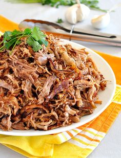 Pork Carnitas (Mexican Slow Cooker Pulled Pork) Recipe - RecipeChart.com