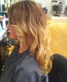 Ombre - A trend that's stuck around for seasons, ombré hair looks like it's here to stay & still in high demand for 2012:)  www.anitaarsova.com