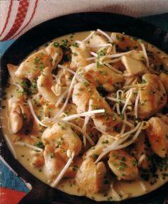 Chicken Ragout or Stew - original german recipe