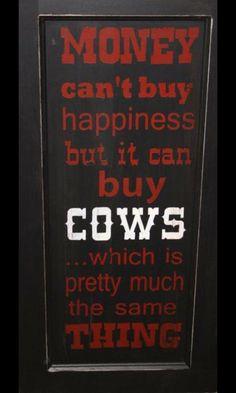 Happiness is ... a cow! Thanks @BrackvaleFarm