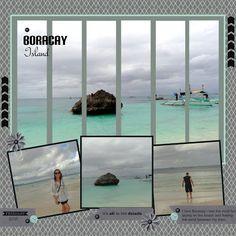ocean beach, stamp, beach photos, scrapbook layouts, landscape photos