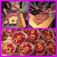 Halloween themed mini sponge cakes from Mama Mummy Mum