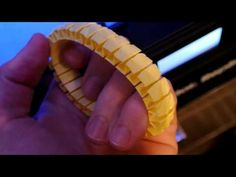 3D Printing on makerbot replicator 2 - stretchy bracelet