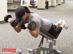 Spider Curls For Shapely, Strong Arms. In this Fit Life episode, Nicole demonstrates a challenging exercise for shaping up your biceps.