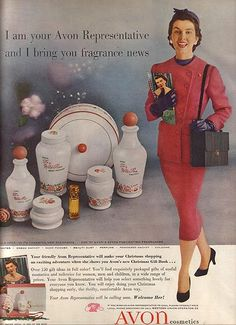Great old AVON imagery!