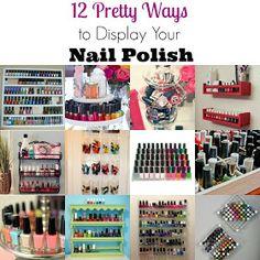 Plane Pretty | Fashion, Travel and Lifestyle Blog: Nail Polish Organization